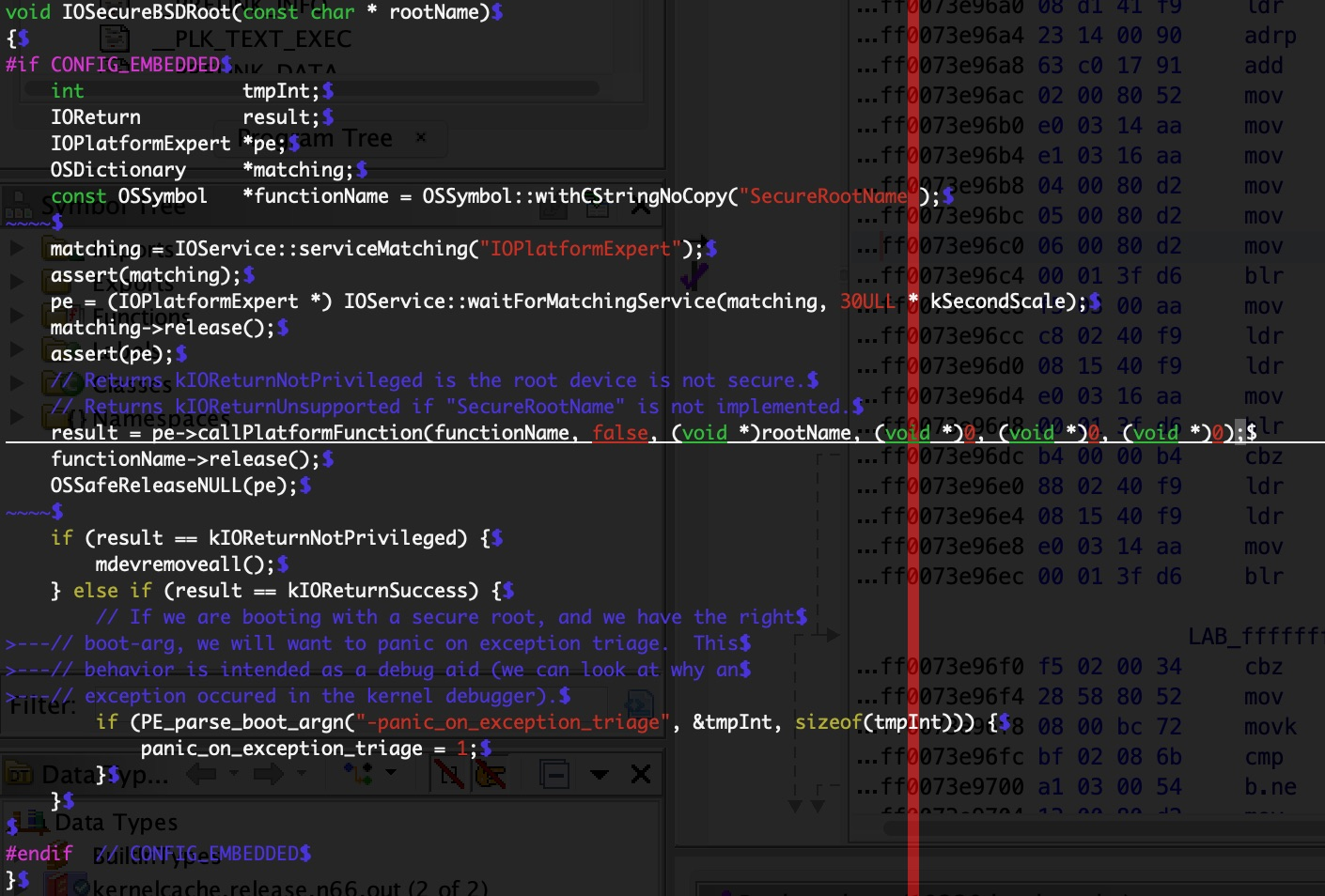 Running iOS in QEMU to an interactive bash shell (2): research